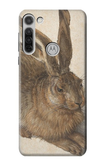 S3781 Albrecht Durer Young Hare Case For Motorola Moto G8