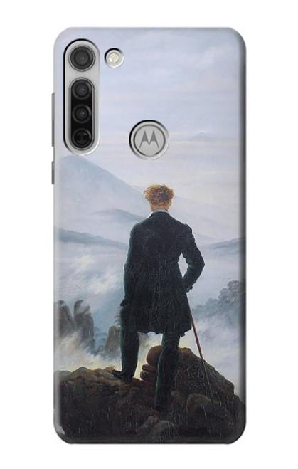 S3789 Wanderer above the Sea of Fog Case For Motorola Moto G8