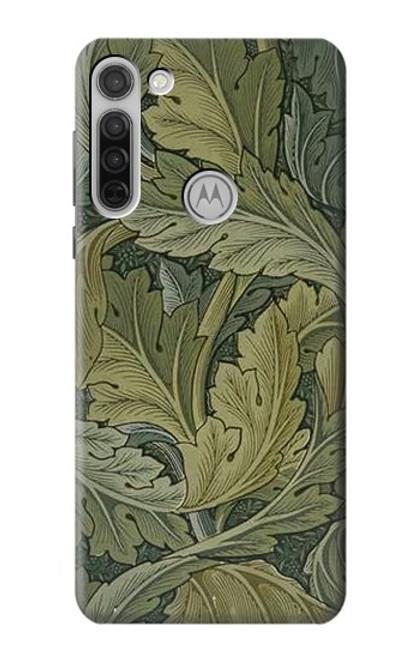 S3790 William Morris Acanthus Leaves Case For Motorola Moto G8