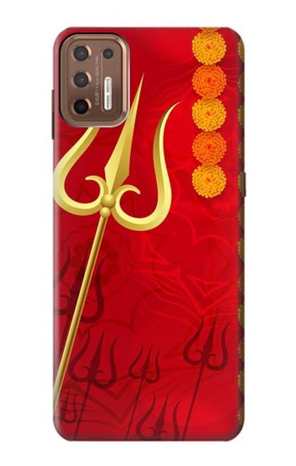S3788 Shiv Trishul Case For Motorola Moto G9 Plus