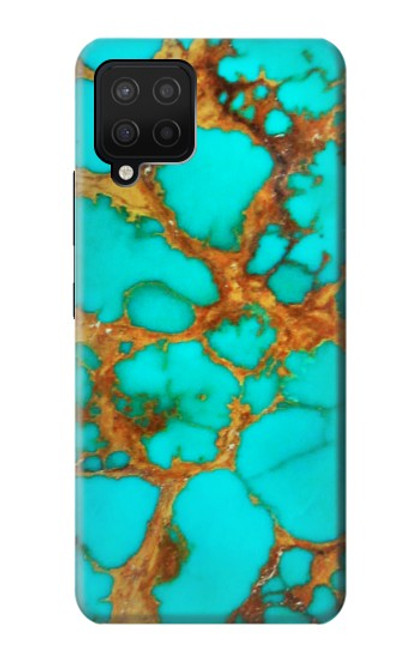 S2688 Aqua Copper Turquoise Gemstone Graphic Case For Samsung Galaxy A42 5G