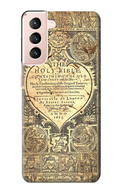 S0330 Bible Page Case For Samsung Galaxy S21 5G
