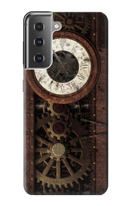 S3221 Steampunk Clock Gears Case For Samsung Galaxy S21 Plus 5G, Galaxy S21+ 5G