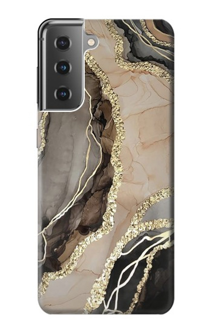 S3700 Marble Gold Graphic Printed Case For Samsung Galaxy S21 Plus 5G, Galaxy S21+ 5G