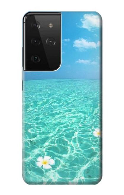 S3720 Summer Ocean Beach Case For Samsung Galaxy S21 Ultra 5G