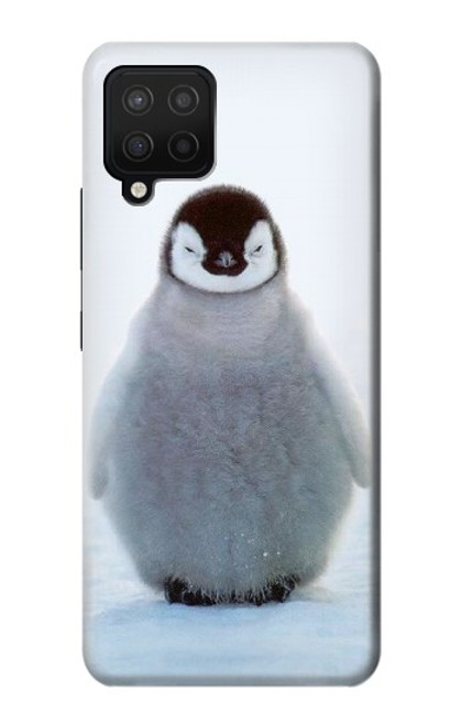 S1075 Penguin Ice Case For Samsung Galaxy A12