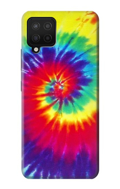 S2884 Tie Dye Swirl Color Case For Samsung Galaxy A12
