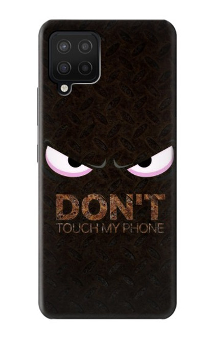 S3412 Do Not Touch My Phone Case For Samsung Galaxy A12