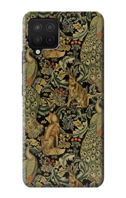 S3661 William Morris Forest Velvet Case For Samsung Galaxy A12