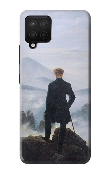 S3789 Wanderer above the Sea of Fog Case For Samsung Galaxy A12