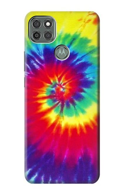 S2884 Tie Dye Swirl Color Case For Motorola Moto G9 Power