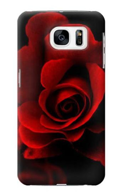 S2898 Red Rose Case For Samsung Galaxy S7