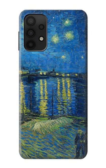 S3336 Van Gogh Starry Night Over the Rhone Case For Samsung Galaxy A32 5G