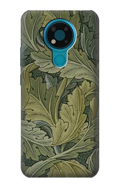 S3790 William Morris Acanthus Leaves Case For Nokia 3.4