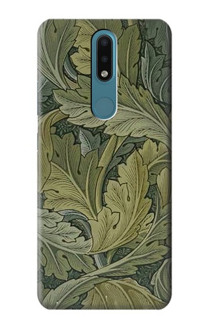S3790 William Morris Acanthus Leaves Case For Nokia 2.4