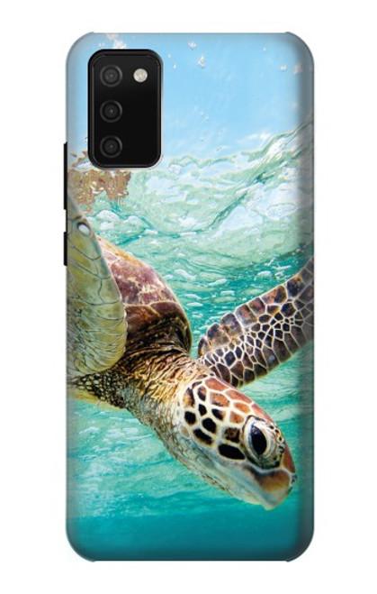 S1377 Ocean Sea Turtle Case For Samsung Galaxy A02s, Galaxy M02s