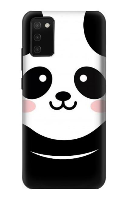 S2662 Cute Panda Cartoon Case For Samsung Galaxy A02s, Galaxy M02s