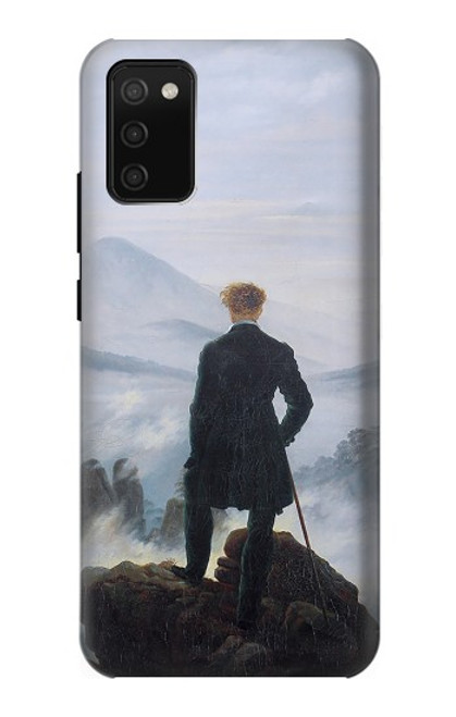 S3789 Wanderer above the Sea of Fog Case For Samsung Galaxy A02s, Galaxy M02s