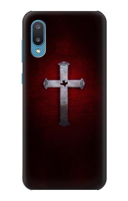 S3160 Christian Cross Case For Samsung Galaxy A02, Galaxy M02