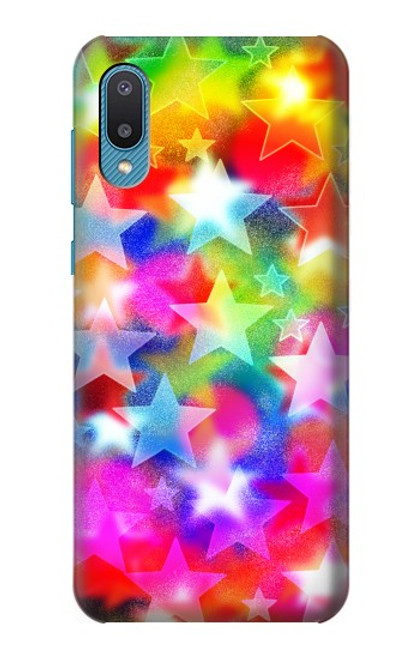 S3292 Colourful Disco Star Case For Samsung Galaxy A02, Galaxy M02