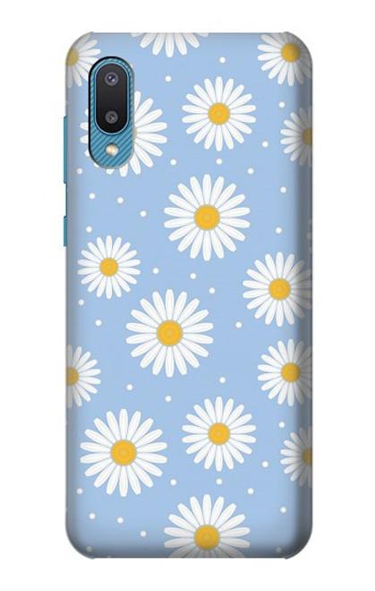 S3681 Daisy Flowers Pattern Case For Samsung Galaxy A02, Galaxy M02