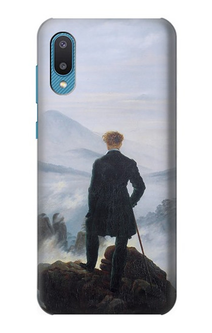 S3789 Wanderer above the Sea of Fog Case For Samsung Galaxy A02, Galaxy M02