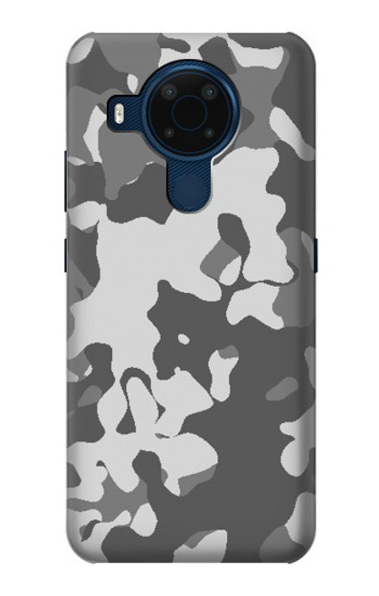 S2186 Gray Camo Camouflage Graphic Printed Case For Nokia 5.4