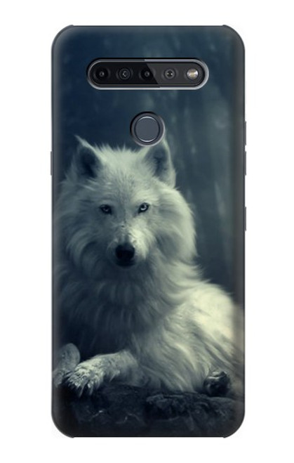S1516 White Wolf Case For LG K51S