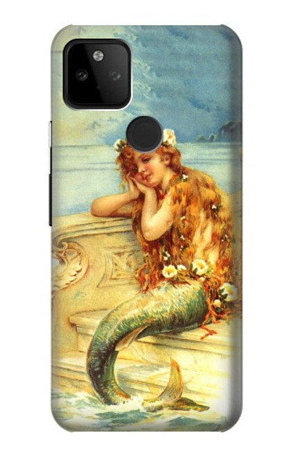S3184 Little Mermaid Painting Case For Google Pixel 5A 5G