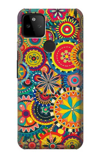 S3272 Colorful Pattern Case For Google Pixel 5A 5G