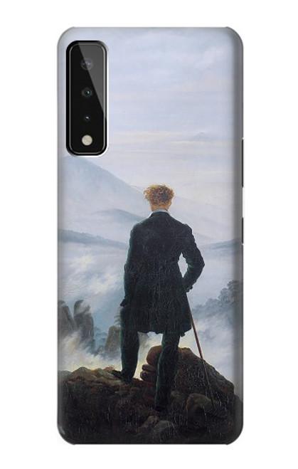 S3789 Wanderer above the Sea of Fog Case For LG Stylo 7 5G