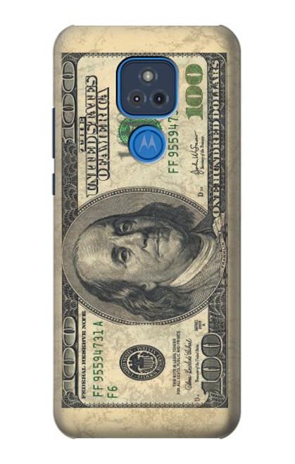 S0702 Money Dollars Case For Motorola Moto G Play (2021)