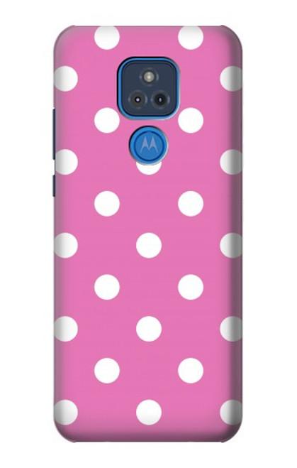 S2358 Pink Polka Dots Case For Motorola Moto G Play (2021)