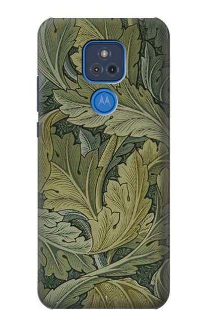 S3790 William Morris Acanthus Leaves Case For Motorola Moto G Play (2021)