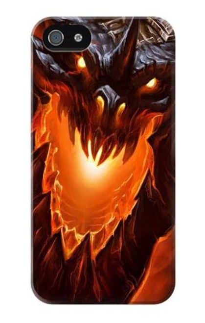 S0414 Fire Dragon Case Cover For IPHONE 4/4S