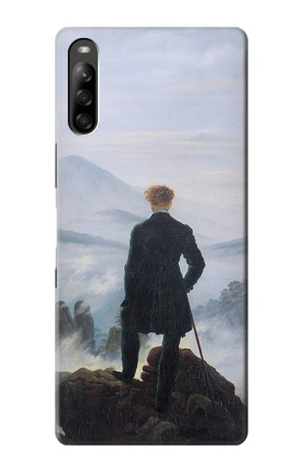 S3789 Wanderer above the Sea of Fog Case For Sony Xperia L5