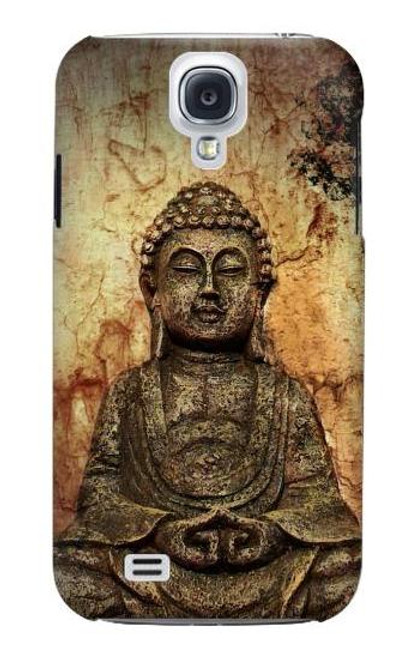 S0344 Buddha Rock Carving Case For Samsung Galaxy S4