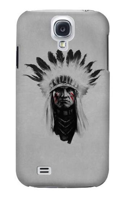 S0451 Indian Chief Case For Samsung Galaxy S4