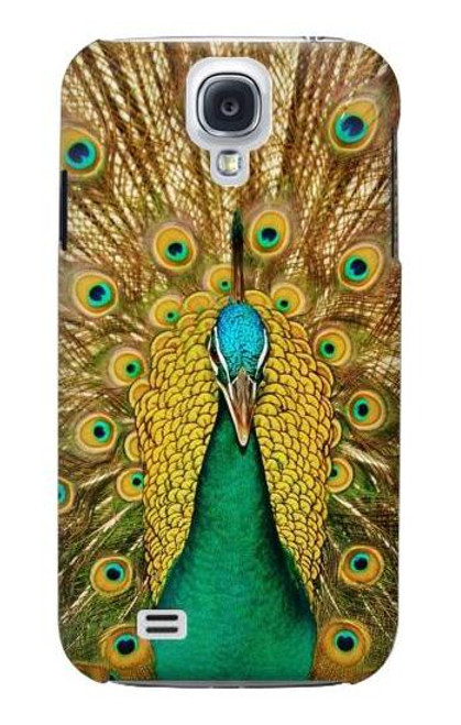 S0513 Peacock Case For Samsung Galaxy S4