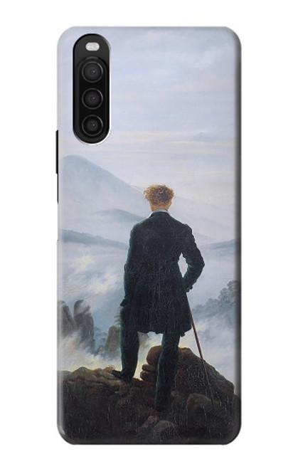 S3789 Wanderer above the Sea of Fog Case For Sony Xperia 10 III