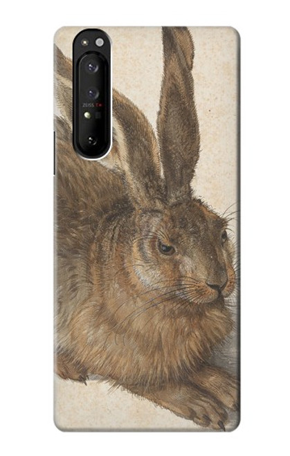 S3781 Albrecht Durer Young Hare Case For Sony Xperia 1 III