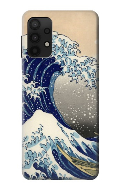 S2389 Hokusai The Great Wave off Kanagawa Case For Samsung Galaxy A32 4G