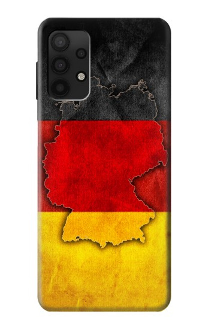S2935 Germany Flag Map Case For Samsung Galaxy A32 4G