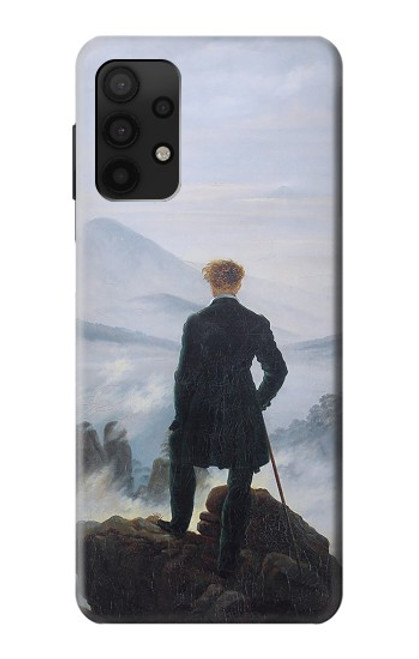 S3789 Wanderer above the Sea of Fog Case For Samsung Galaxy A32 4G