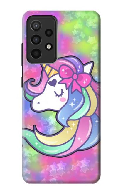 S3264 Pastel Unicorn Case For Samsung Galaxy A52, Galaxy A52 5G