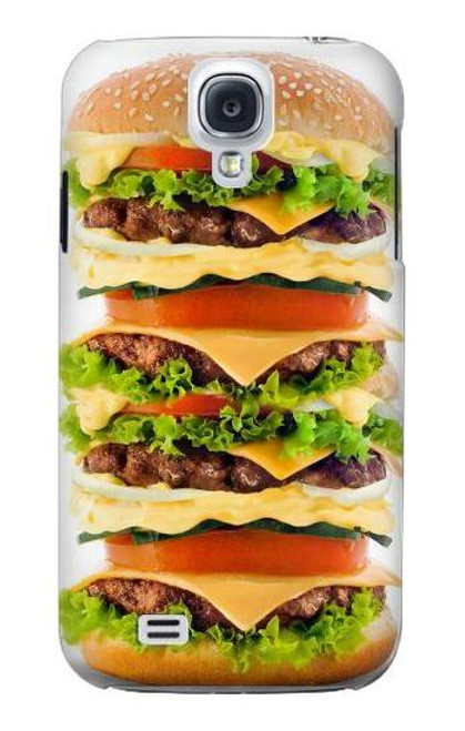 S0790 Hamburger Case Cover For Samsung Galaxy S4
