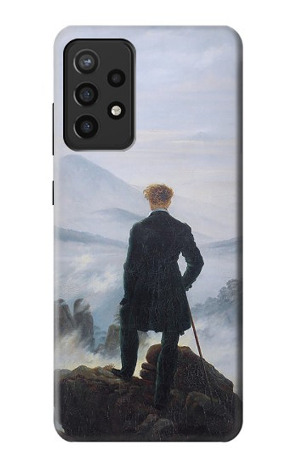 S3789 Wanderer above the Sea of Fog Case For Samsung Galaxy A72, Galaxy A72 5G
