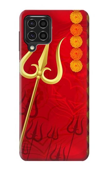S3788 Shiv Trishul Case For Samsung Galaxy F62