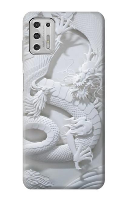 S0386 Dragon Carving Case For Motorola Moto G Stylus (2021)