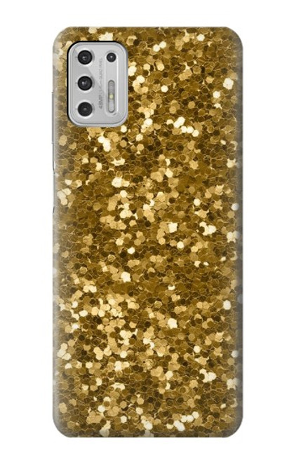 S3388 Gold Glitter Graphic Print Case For Motorola Moto G Stylus (2021)
